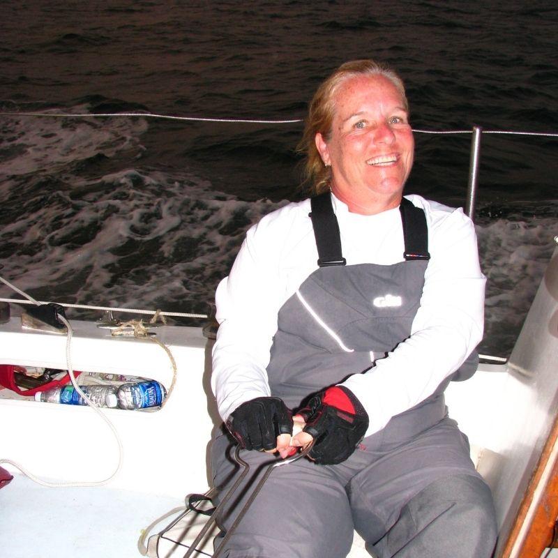 Dianne A Allen sailing